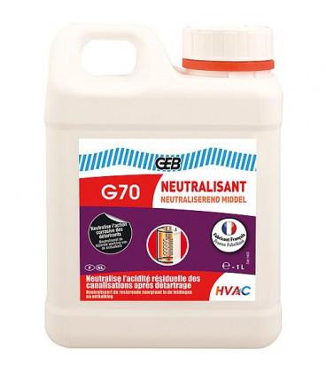 Neutralisant GEB G70 après détartrant, Bidon 1 litre