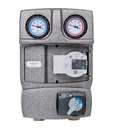 """Kit circuit de chauffage Easyflow DN25(1""""),melangeur 3 voies, servomoteur, Wilo Para 25/6"""