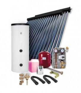 """Kit solaire HP 30 montage sur toiture 9,78M"""" avec reservoir solaire 400L"""