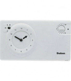 Theben thermostat a horloge RAM 784 S blanche programmes 24 heures