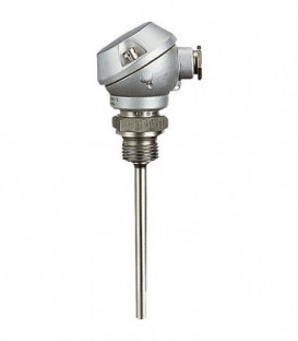 Thermometre de resistance a vis +tete de raccordem.,sonde 6x100mm Temp. d'utilisation -50 - 400 C°