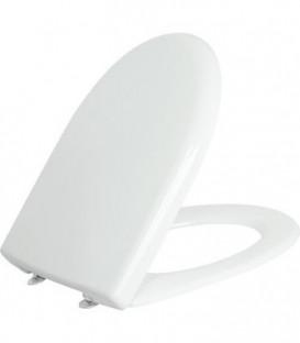 Abattant WC Geberit Renova, blanc fixation en bas