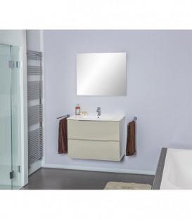 Kit meubles salle de bain Bali taupe brillant *BG*
