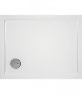 Receveur EVREN rectangulaire acrylique 1200x1000x55 mm pour bonde de 90 mm