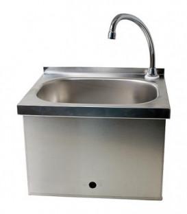 Bassin hydgienique en acier inox detecteur de commande sans mouvement secteur ou piles WM03