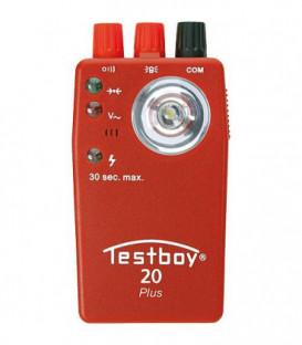 Testboy 20 controleur de continuite optique et acoustique a tension invariable jusqu'a 400 V