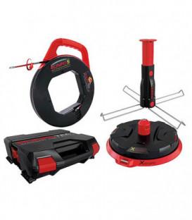 Derouleur cable kit-Runpotec XB 300 avec broche multifonct. et Runpo 5 en mallette systeme