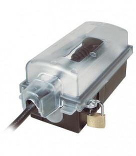 Prise exterieure verrouillable pour prise angle, 230V/16A, IP44