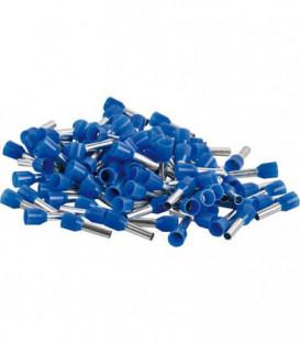 Embout isole 2,5 x 14 bleu 1 sachet de 100 pcs