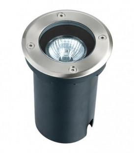 Spot LED encastre rond, avec GU10 , IP67, argente
