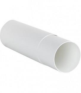Tube telescopique blanc, 100 mm