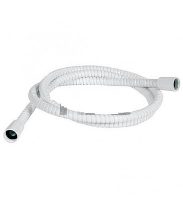 Flexible de douche Powerflex blanc