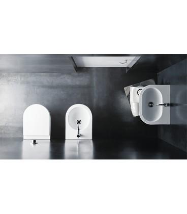 WC suspendu à fond creux Mini - Nuvola