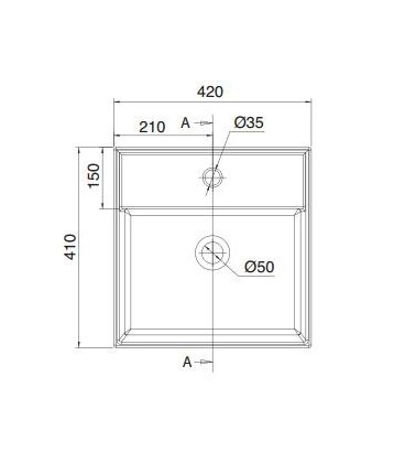 Teorema vasque/lavabo à poser et suspendu 40R