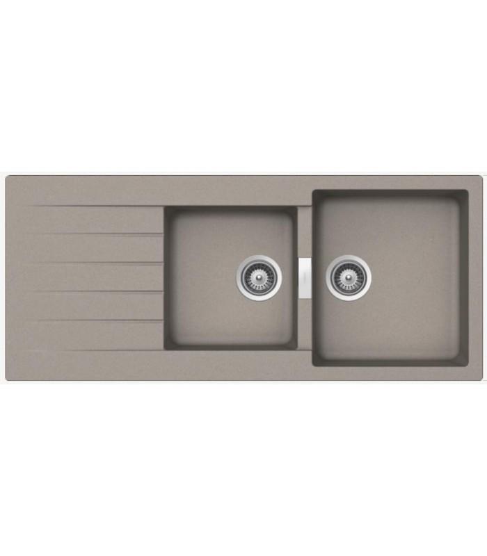 evier primus 2 bacs js en cristalite pour votre cuisine. Black Bedroom Furniture Sets. Home Design Ideas