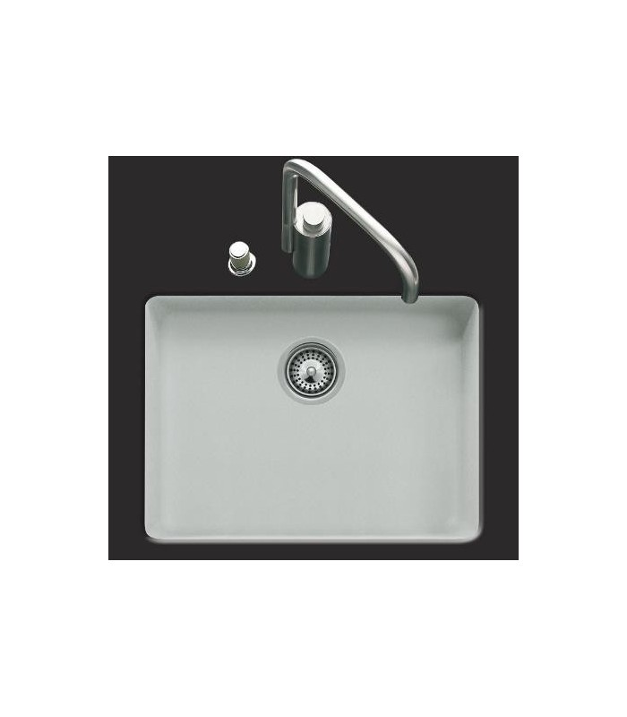 grande cuve sous plan rectangulaire cristalite js pour votre cuisine. Black Bedroom Furniture Sets. Home Design Ideas