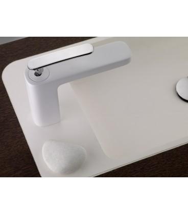 Mitigeur lavabo blanc GRB Grober pour sanitaires