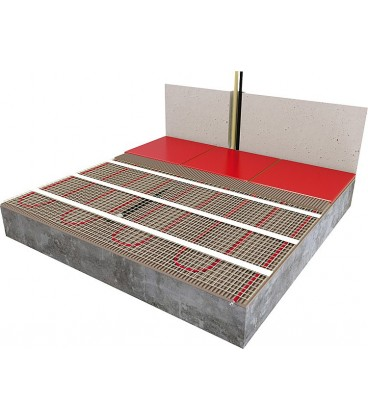 Plancher chauffant lectrique banyo pour sanitaires - Tarif plancher chauffant electrique ...