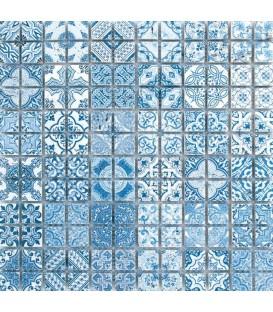 Mosaïque Traversin Décoré Tanger 23x23mm