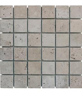 Mosaïque Travertin Naturel 48x48mm